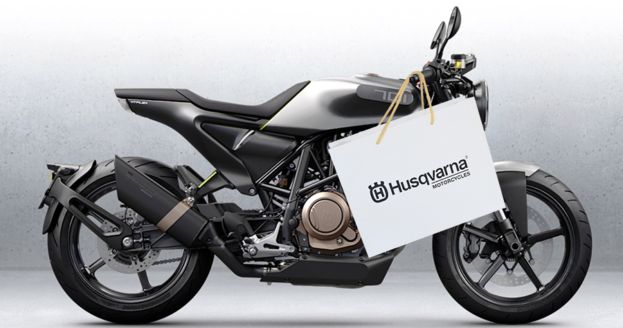 1 | Husqvarna Motocycles | Shopping bag