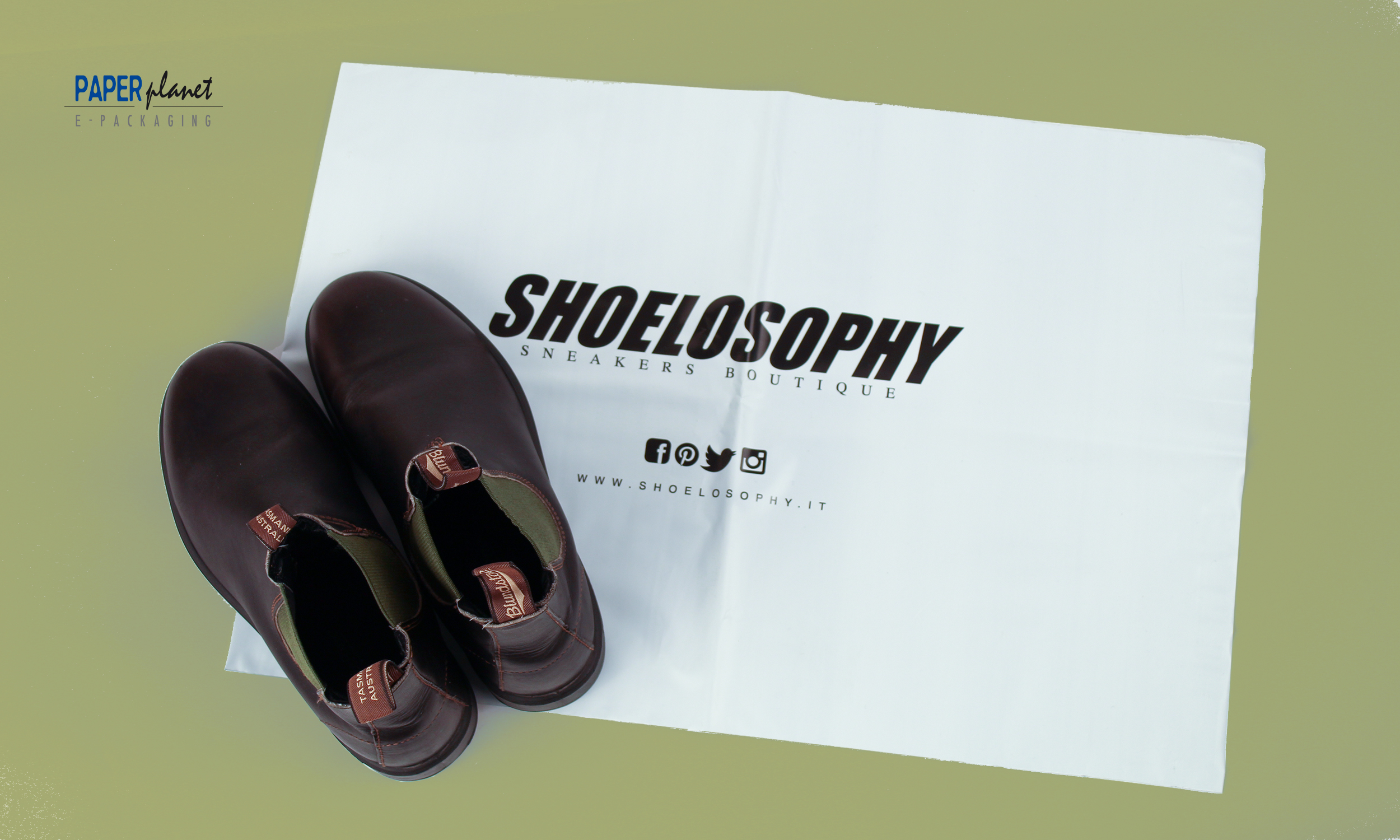 1 | Shoelosophy | E-commerce Shopping bag